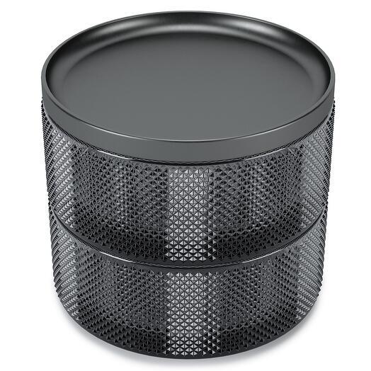 Шкатулка для украшений tesora дымчатая  Umbra 1013238-582