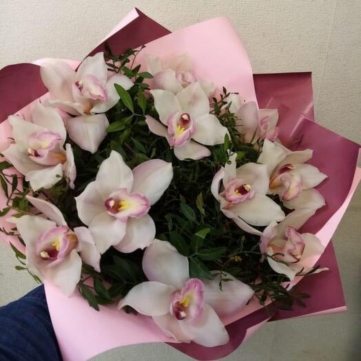 Монобукет из Орхидеи Цимбидиум