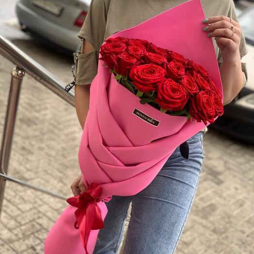 Оригами 21 роза
