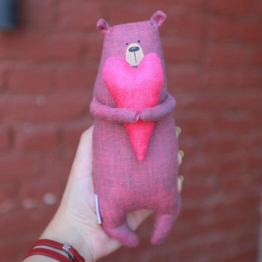 Пурпурный мишка