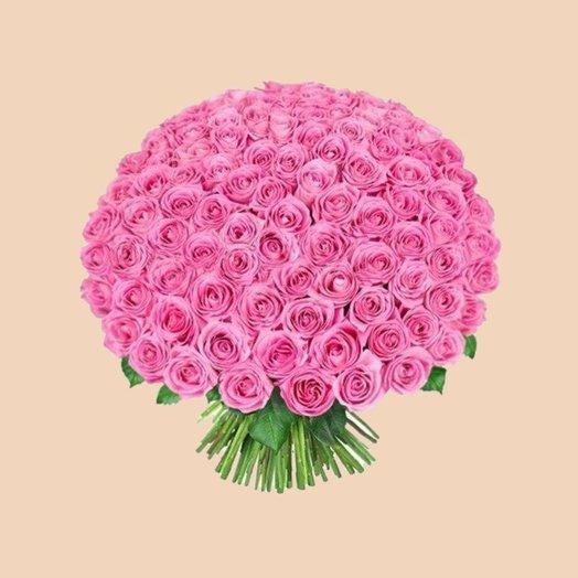 101 роза (60 см): букеты цветов на заказ Flowwow
