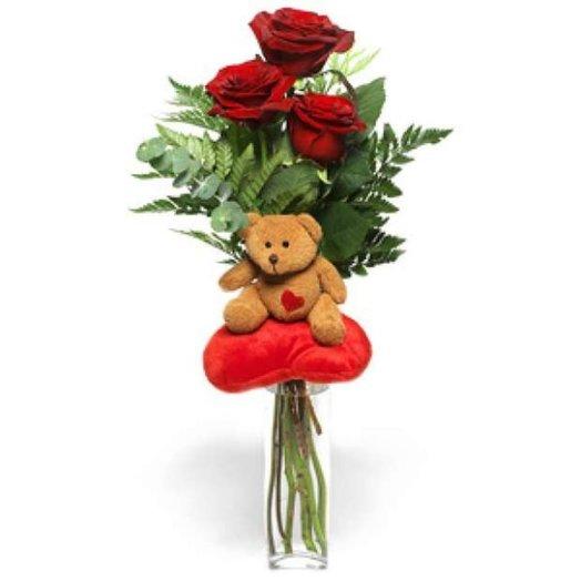 БЦ-160111 Моей любимке: букеты цветов на заказ Flowwow