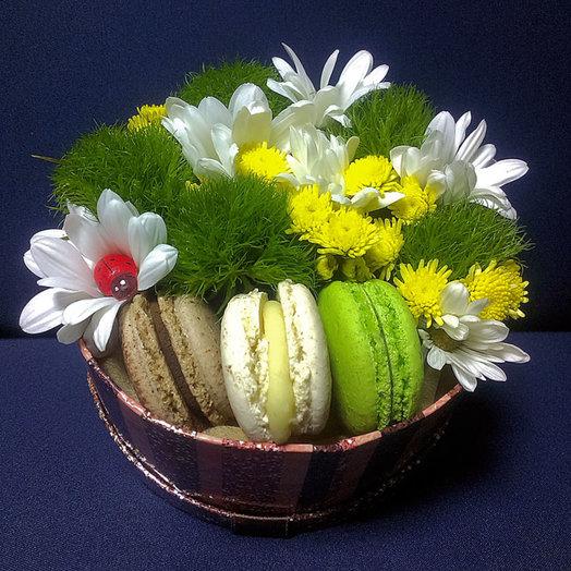 Солнечная полянка (Коробочка 231): букеты цветов на заказ Flowwow