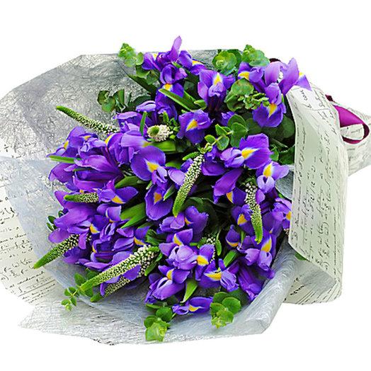 Фиолетовый бриз (Букет 252): букеты цветов на заказ Flowwow