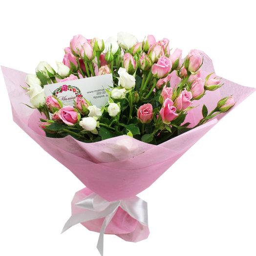 Букет Розовая любовь: букеты цветов на заказ Flowwow
