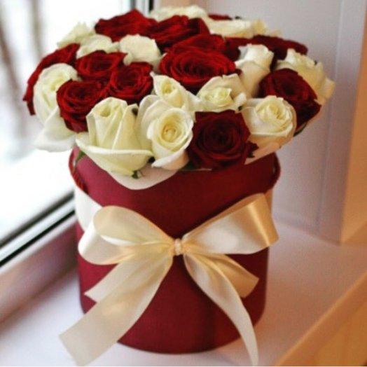 Коробка Романтика: букеты цветов на заказ Flowwow