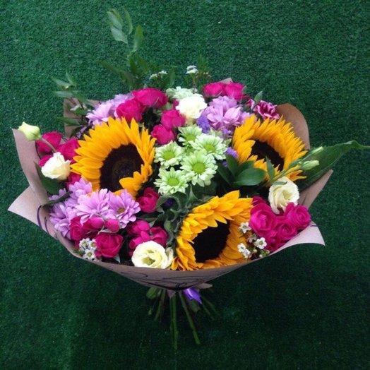 Букет Бабье лето: букеты цветов на заказ Flowwow