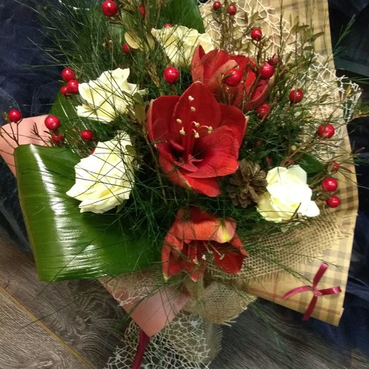 "Букет ""Зимний"": букеты цветов на заказ Flowwow"