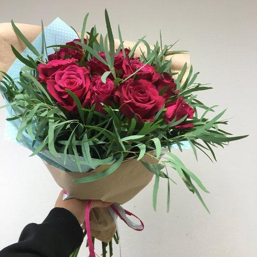 Стильный букет: букеты цветов на заказ Flowwow
