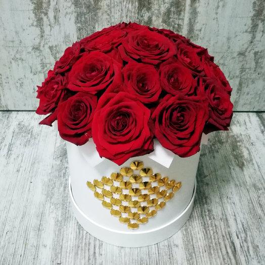 Золото Вегаса: букеты цветов на заказ Flowwow