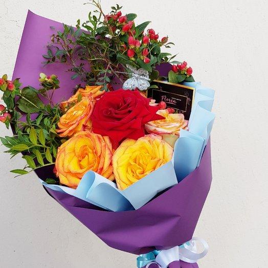 Золотистый колос : букеты цветов на заказ Flowwow