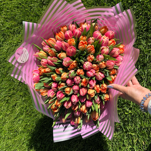 Пионовидное безумие: букеты цветов на заказ Flowwow