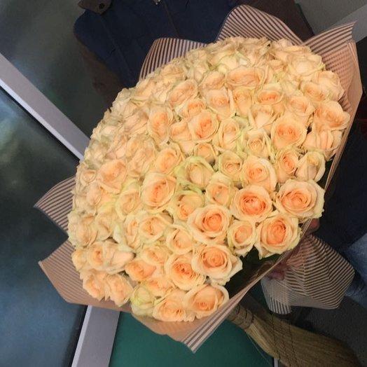 Аваланж пич: букеты цветов на заказ Flowwow