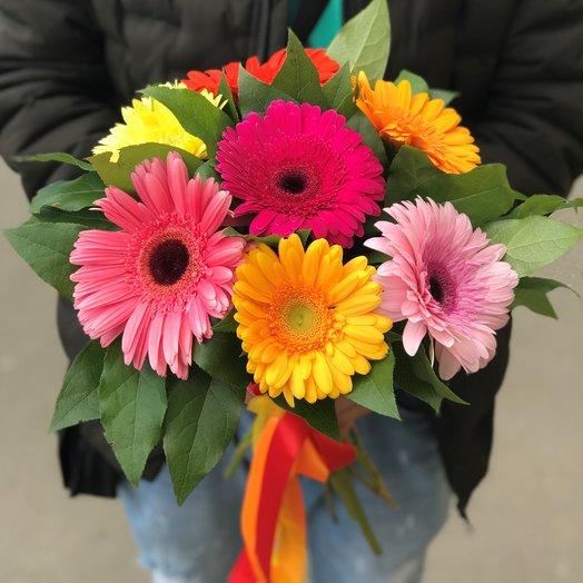 Монобукеты. Герберы. N132: букеты цветов на заказ Flowwow