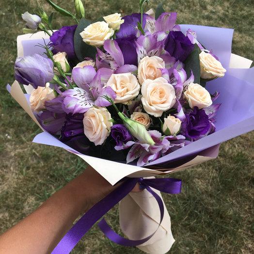 Букет «Ежевичный кекс»: букеты цветов на заказ Flowwow