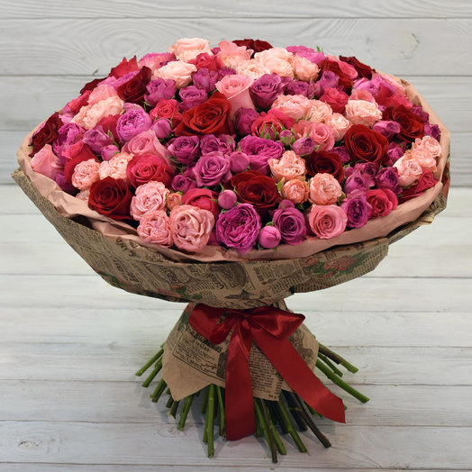 Букет Семирамида: букеты цветов на заказ Flowwow