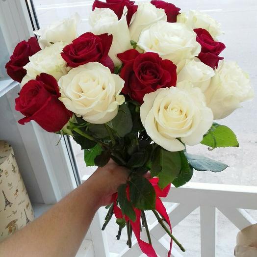 15 роз в подарок