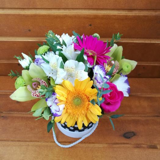 Коробочка сборная: букеты цветов на заказ Flowwow