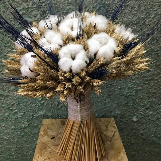 Букетик из сухоцветов: букеты цветов на заказ Flowwow