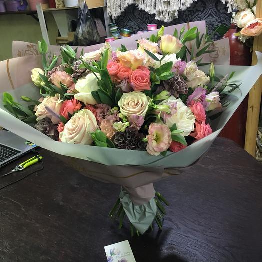 Морозный: букеты цветов на заказ Flowwow