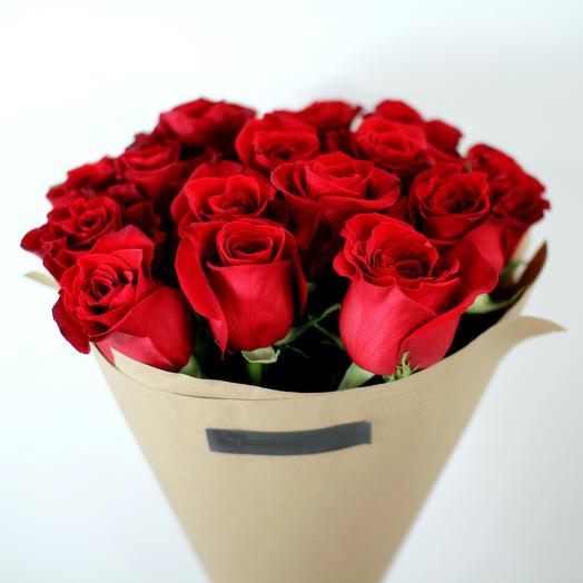 15 роз в карфте: букеты цветов на заказ Flowwow
