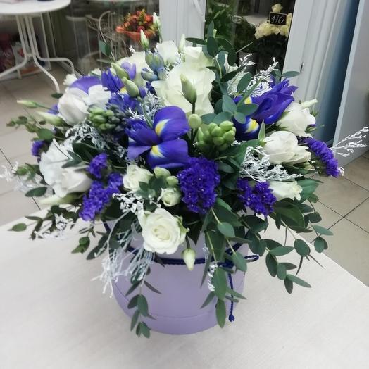 Цветочная коробка «Небеса»
