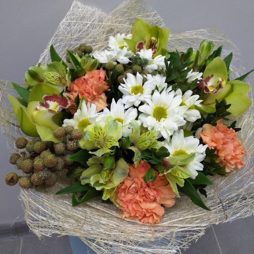 Букет 033: букеты цветов на заказ Flowwow