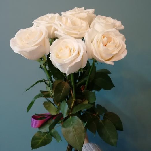 Розы 7 шт. 60см