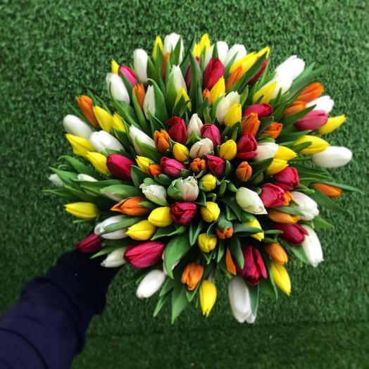 Микс 101: букеты цветов на заказ Flowwow