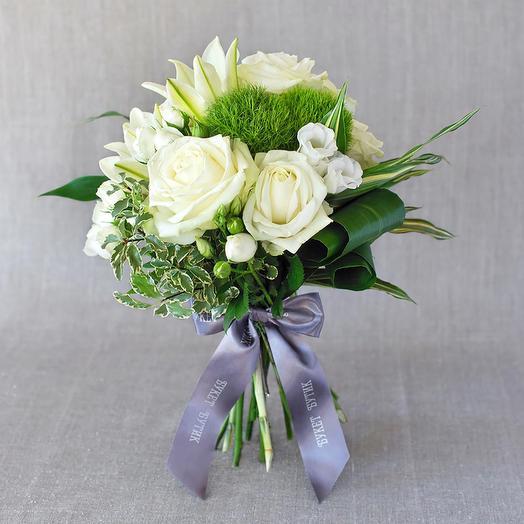"""Компактный букет """"Нью-Йорк"""": букеты цветов на заказ Flowwow"""