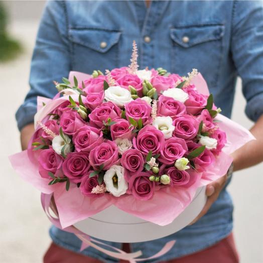 Цветочный торт от флориста: букеты цветов на заказ Flowwow