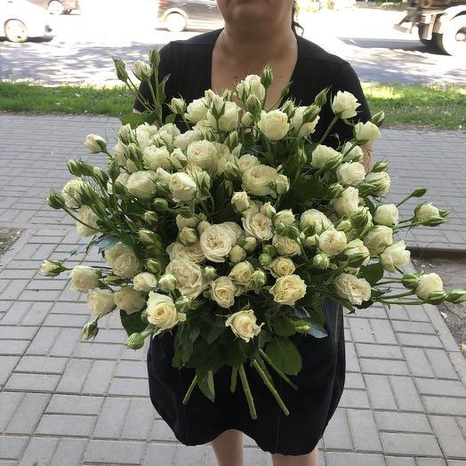 Охапка кустовых: букеты цветов на заказ Flowwow