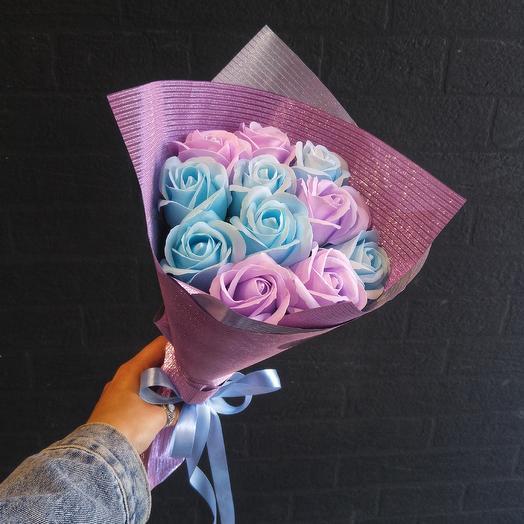 Монобукет из мыла: букеты цветов на заказ Flowwow