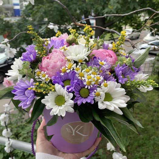 Счастливая коробочка: букеты цветов на заказ Flowwow