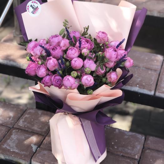 Мисти баблс: букеты цветов на заказ Flowwow