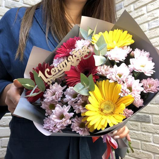 Для учителя: букеты цветов на заказ Flowwow