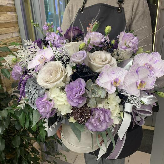 Luxury 💜: букеты цветов на заказ Flowwow