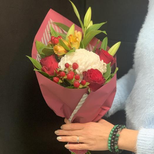 Букет «ароматный»: букеты цветов на заказ Flowwow