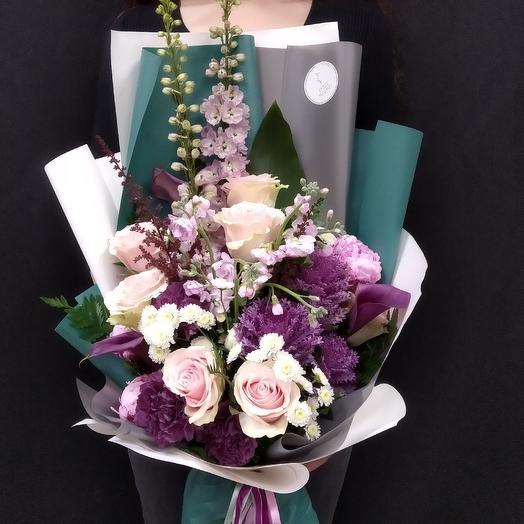Букет - Обыкновенное Чудо: букеты цветов на заказ Flowwow