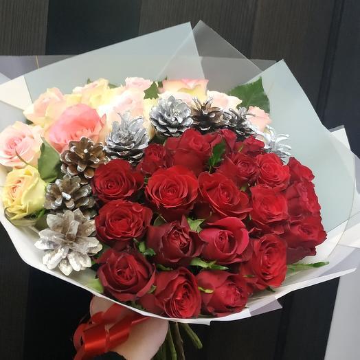 Оригинальная композиция: букеты цветов на заказ Flowwow