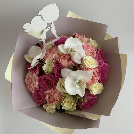 Букет «Целовашки»: букеты цветов на заказ Flowwow