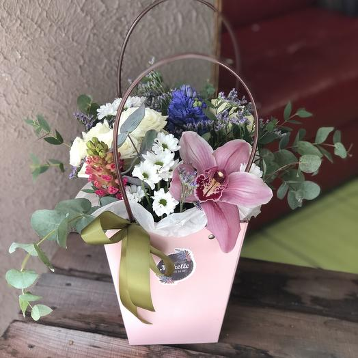 Сумочка цветочная к 8 марта 💗