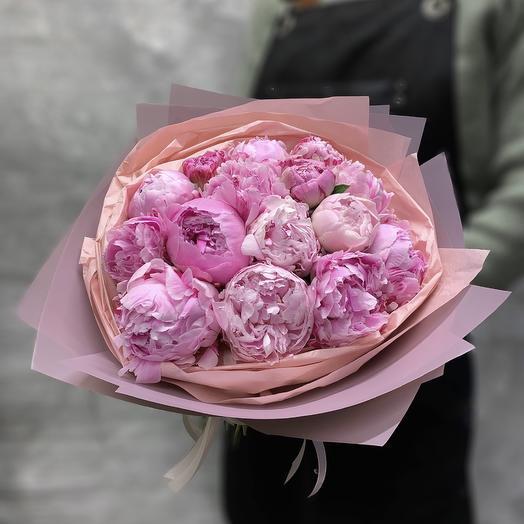 Букет «Пионовый шик»: букеты цветов на заказ Flowwow