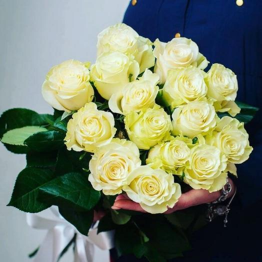 Букет роз мондиаль 15шт: букеты цветов на заказ Flowwow
