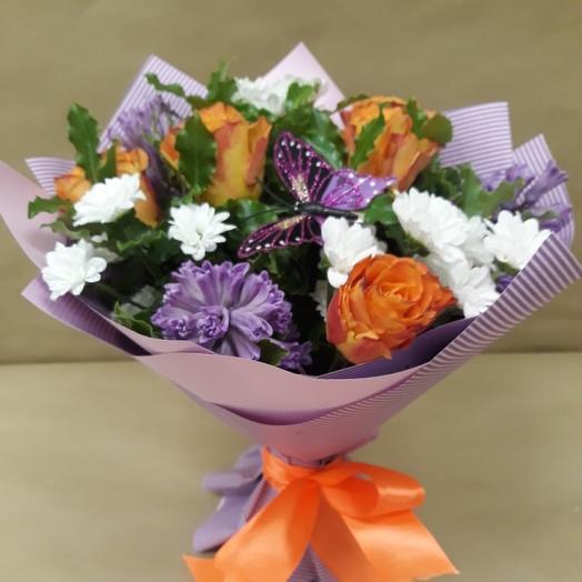 Букет Торжество Элегантности: букеты цветов на заказ Flowwow