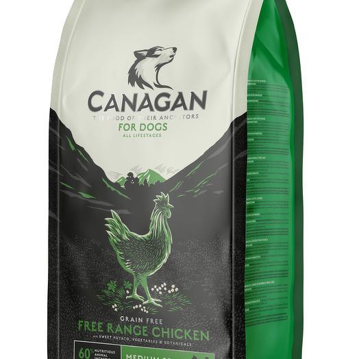 CANAGAN Grain Free, Free-Run Chicken беззерновой сухой корм для собак всех пород и возрастов с курицей 2 кг