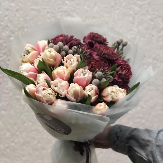 Цветочный букет 52