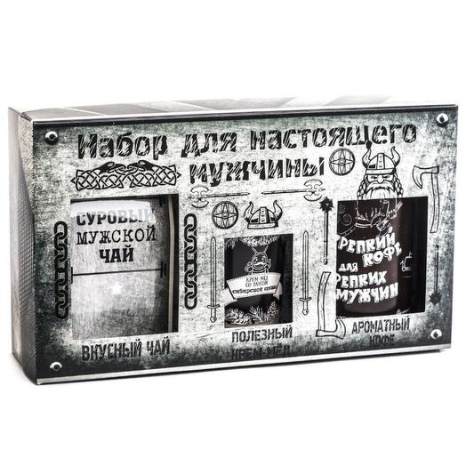 """Подарочный набор из 3 продуктов """"Вотэточай"""" """"Для настоящего мужчины"""""""