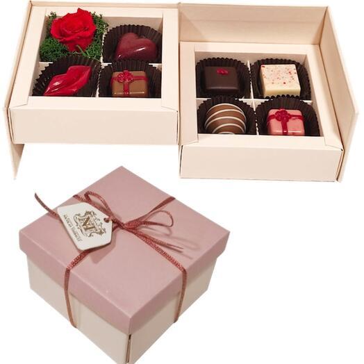 """Шоколадные конфеты """"С днем рождения!"""""""