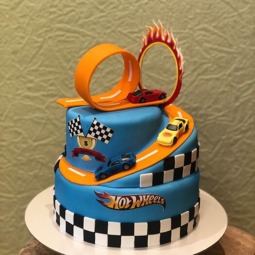 Торт Хот Вилс  Hot Wheels